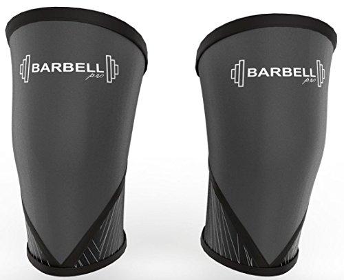 Knee Sleeves / Kniebandage / Knee Support 7MM Neopren, Crossfit, Gewichtheben, Fitness, Sport, Powerlifting, Beste Kompression, Unisex (1 PAAR) (Beste Kompression, Knee Sleeve)