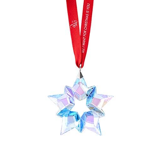 Swarovski Ornament, 25. Jubiläumsausgabe by Mariah Carey Jahresausgabe 2019 Weihnachtsmotiv Jahresornament Weihnachtsornament Jahresstern