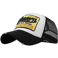 Lenfesh Gorras Beisbol, Vintage Gorra Para Hombre Mujer Sombreros de Verano Gorras de Camionero de Hip Hop Meshed Talla Única