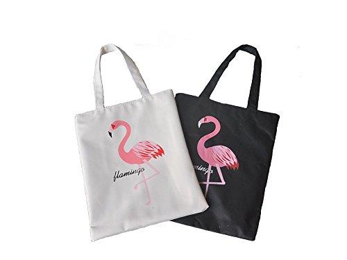 Bolso Playa,2 Pack Bolsa de Mano de Mujer Lona Bolsos Bandolera Clutch para Comprar Playa Viaje 1 Ne