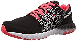 Reebok Womens Twistform Cty Black,Silver,Red And White Running Shoes - 6.5 UK