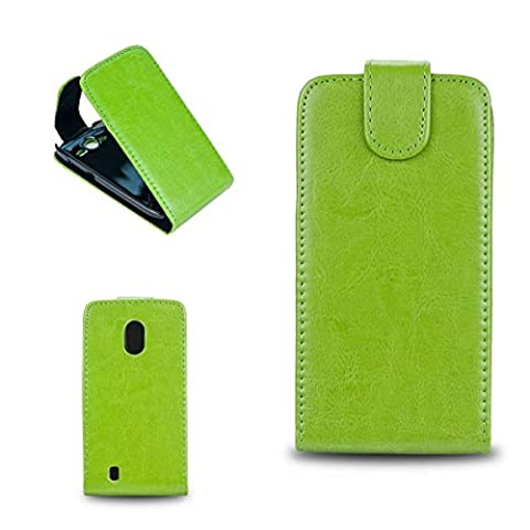 caseroxx Handyhülle mit Flip-Cover für Samsung Galaxy i8700 Omnia 7, Schutzhülle für das Smartphone Flipcase (Handytasche klappbar in