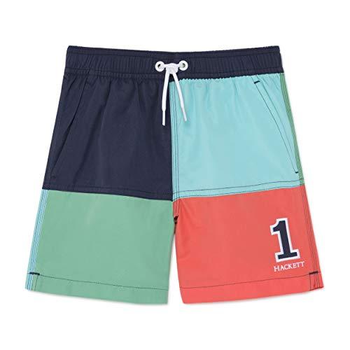 Hackett London Quad Volley Y Bañador, Multicolor 0aamulti 0aa, 170 Talla del Fabricante:...