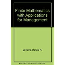 Finite Mathematics with Applications for Management
