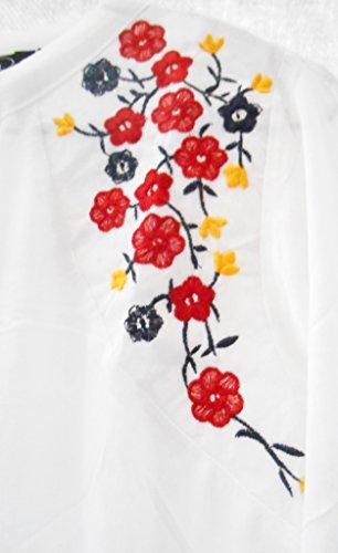 Triumphin Women's Cotton Top - TRAMT0058_White_Large