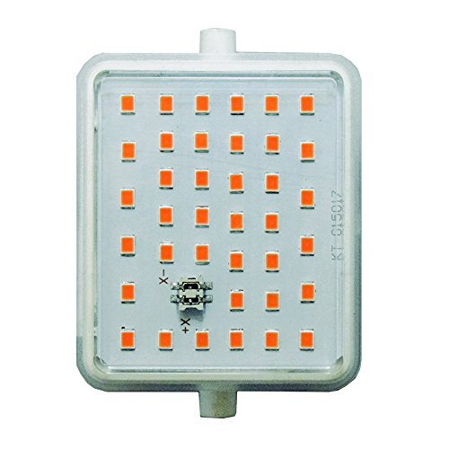 LightED J78 Bombilla LED 30K R7s, 12 W, Blanco, 78 x 55 x 33 mm