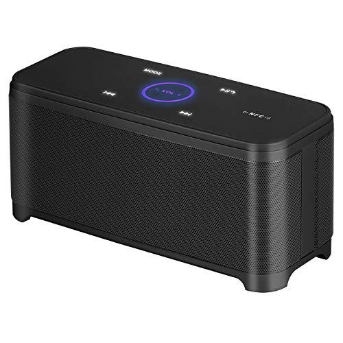 ZSTY Bluetooth-Lautsprecher, Touch Wireless Mit Call Dual