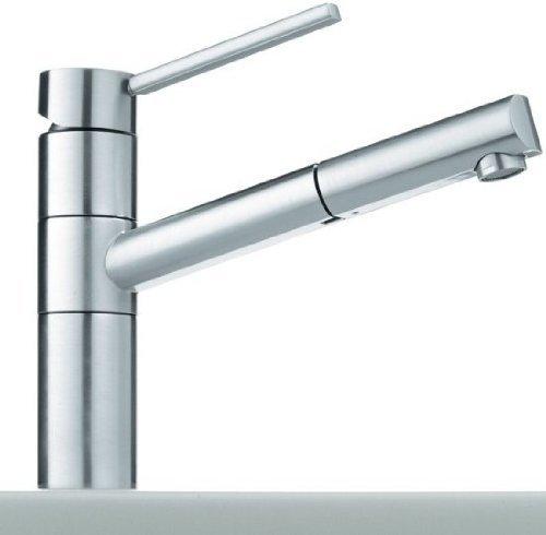 Preisvergleich Produktbild Franke 350 Chrom Hochdruck Armatur Wasserhahn Ausziehauslauf Mischbatterie Küche