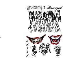 Amazon Fr Tatouage Joker Suicide Squad
