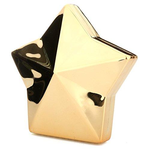 YYW Evening Bag, Poschette giorno donna Gold
