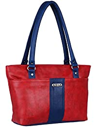 Aisna Women Red And Blue Shoulder Bag (ASN-020) (red And Blue)