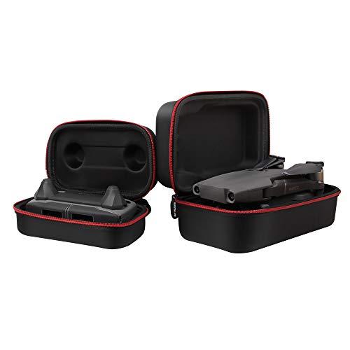 PENIVO Wasserdichte Tragbare Aufbewahrungstasche Drohne Body + Fernbedienung Fall für Mavic 2 Zoom/Pro Schutz Zubehör (RC +Body Case Set)