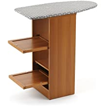 """Arredamenti Italia  Mueble de planchado STIRALLEGRO, madera - Plegable, tabla oculta -  Color: madera de cerezo """"Ar-It il cuore del legno"""""""