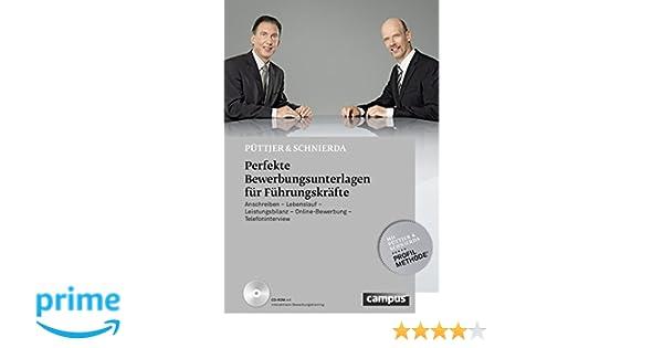 Perfekte Bewerbungsunterlagen Für Führungskräfte Anschreiben
