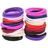 CHRONEX Women's Ponytail Holders Hair Bands (Multicolour)