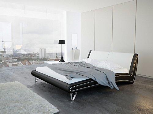 """Polsterbett Ehebett Einzelbett Jugendbett Bett Doppelbett Tagesbett """"Toskana"""" (160 x 200 cm)"""
