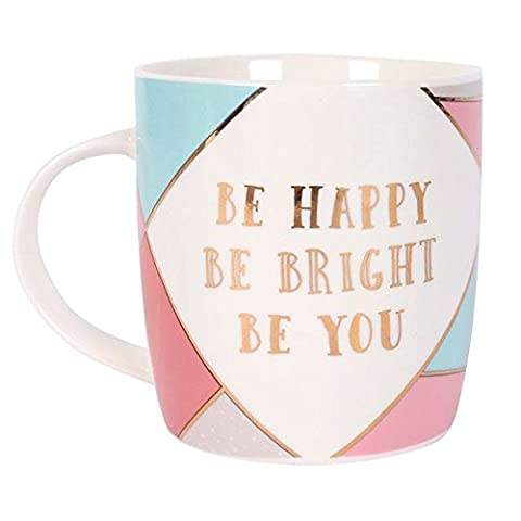 Glamorous BE HAPPY , BE BRIGHT, BE YOU - Retro