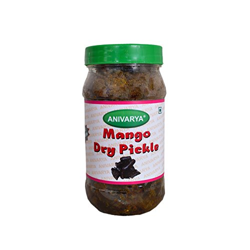 Anivarya Homemade and without Preservative Mango Dry Pickle (350g)