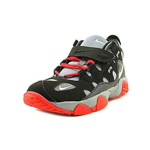Gs Jugend-schuhe (Nike Air Turf Raider (GS) Jugend-Jungen Schwarz Basketball Schuhe Neu EU 37,5)