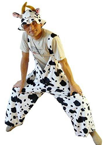 Kuh-Kostüm, J05 Gr. M-XL, Kuh-Kostüme für Männer und Frauen,Kühe als Gruppen-Kostüme,  Faschings-Kostüme für Fasching Karneval Fasnacht, Faschings-Kostüme, Geschenk Erwachsene