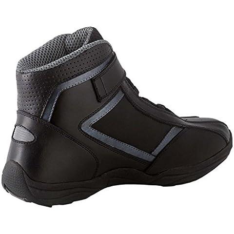 Diora Paddock botas cortos para moto, color negro