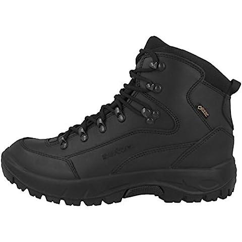 Lowa Outdoor Schuhe Renegade GTX Mid TF Damen black-black (320938-9999), 39, schwarz