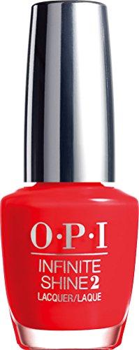 Opi Schritt (OPI Infinite Shine Nail Polish Unrepentantlyred, 1er Pack (1 x 15 ml))
