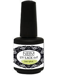 NBM UV Lack 4 all lime- splash, 1er Pack (1 x 14 ml)