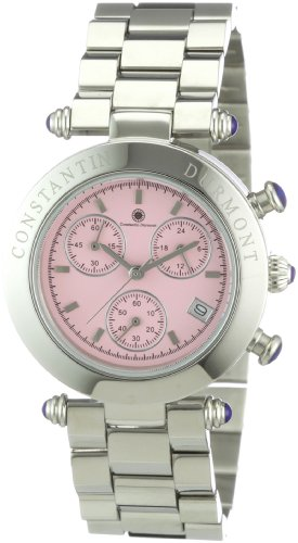 Constantin Durmont Women's Visage Watch CD-VISL-QZ-ST-STST-PK