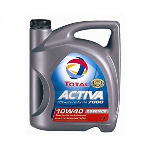 DLLUB – TOTAL ACTIVA 7000 10w40 ESSENCE **PROMO** – 5 litres pas cher