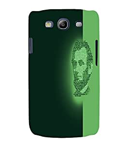 PrintVisa Modern Art Lincoln Face 3D Hard Polycarbonate Designer Back Case Cover for Samsung Galaxy S3