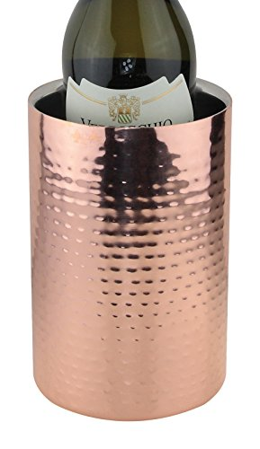 Apollo 19cm großer Weinkühler aus Edelstahl und Kupfer in Mehreren Farben