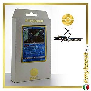 Articuno 32/181 Holo Reverse - #myboost X Sole E Luna 9 Gioco di Squadra - Box de 10 Cartas Pokémon Italiano
