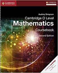Camb O Level Math Coursebook 2Ed