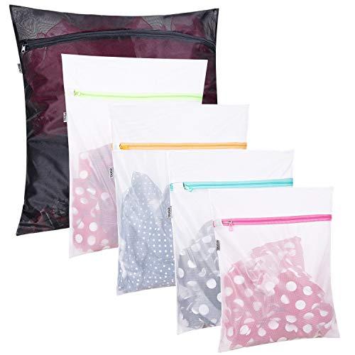 Eono Essentials Netz-Wäschesäcke für Wäsche, Bluse, Strumpfhosen, Strümpfe, Unterwäsche, BH und Dessous, Reisetasche