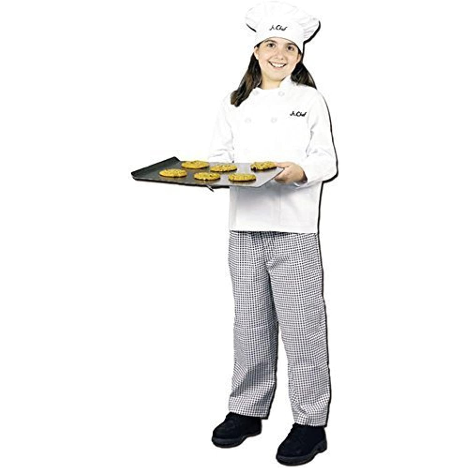Dress Chef Up America Size 4 6 Master Girl Chef Dress Costume S