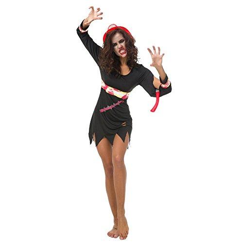 (Halloween Cosplay Kleid, Damen Maskerade Show Kleidung Kleid Halloween Kostüm für Vampire Witch)