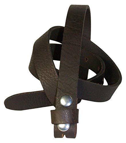 Fronhofer Fine ceinture de rechange en cuir pleine fleur de 2 cm de large sans  boucle 307d4116278