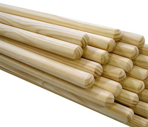 COTTAM BHA00003 Natürlicher Holzbesengriff, FSC-Zulassung, 5 ft