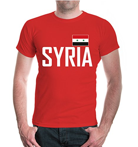 buXsbaum® T-Shirt Syrien Red-
