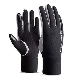 Gugutogo Winter-warme Fleece-gefütterte Thermo-Handschuhe für das Skifahren