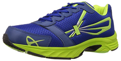 Sparx Men's Royal Blue and Flourscent Green Running Shoes - 8 UK/India (42 EU) (SX0236G)