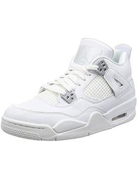 Nike , Jungen Sneaker weiß White/Metallic Silver