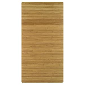 "Kleine Wolke ""Bambus"" Wooden Mat, Nature, 60 x 115 cm (assorted colors)"