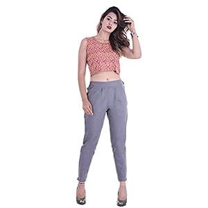 FASHION CLOUD Women's Regular Fit Casual Trouser