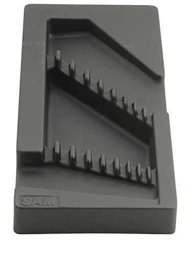 SAM Outillage MOD-10 Module vide clés polygonales contre-coud2es, Noir