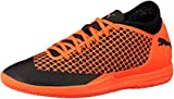 Puma Herren Future 2.4 IT Fußballschuhe, Schwarz Black-Shocking Orange 02, 44.5 EU