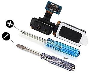 Hörmuschel für Samsung Galaxy S4 i9500 i9505 Series Lautsprecher Earphone Earpiece inkl 2 x Schraubenzieher für einfachere Installation MMOBIEL