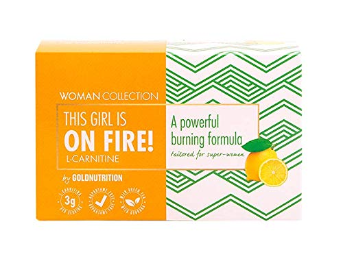 Gold Nutrition Woman Collection On Fire Carnitina Limon 15Ud 200 g