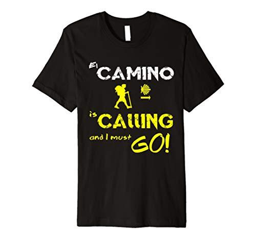 Camino de Santiago T-Shirt Wandern T Shirt Compostela Spanien
